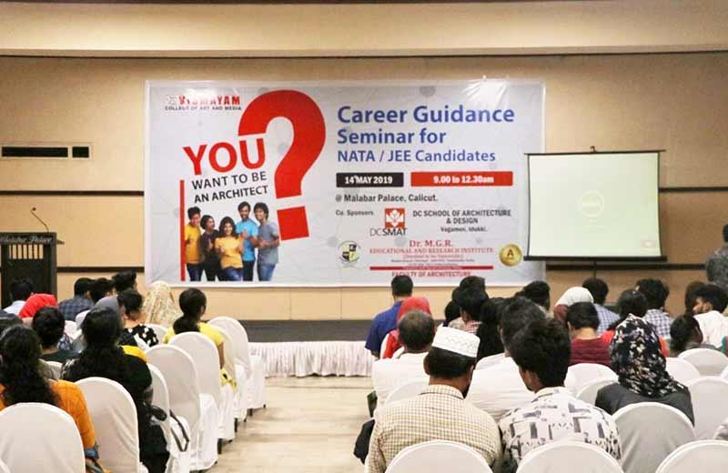 Career Guidance Seminar For NATA & JEE - NATA coaching centre